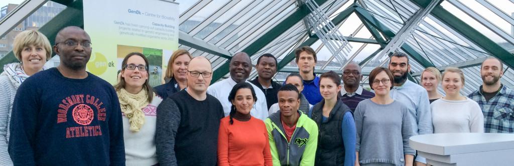 Forskerne fra Fort Hare ga en gjesteforelesning til GenØk-ansatte.